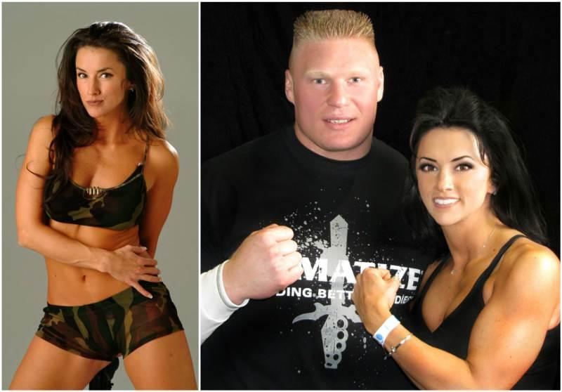 Brock Lesnar & Nicole McClain
