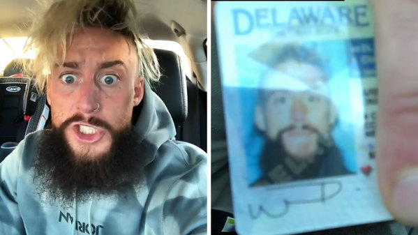 DMV Having Issues With Enzo Amore's Sexually Suggestive Signature