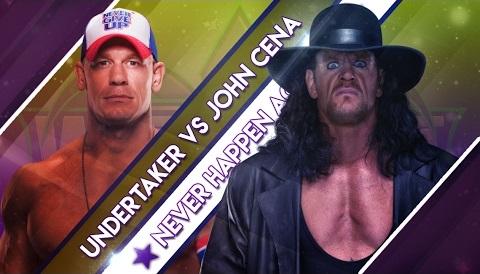 John Cena vs. The Undertaker - WrestleMania 34