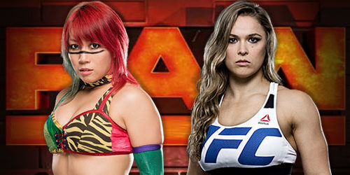 Ronda Rousey vs. Asuka to take place at WrestleMania 34