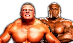 Brock Lesnar vs. Bobby Lashley