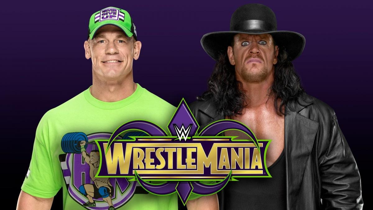 WWE Teases John Cena vs. The Undertaker At WrestleMania 34