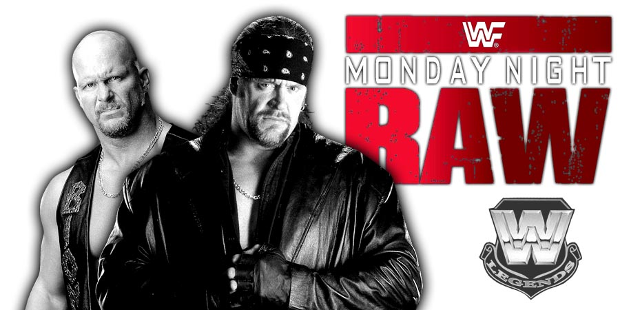 Raw 25 - The Undertaker & Stone Cold Steve Austin