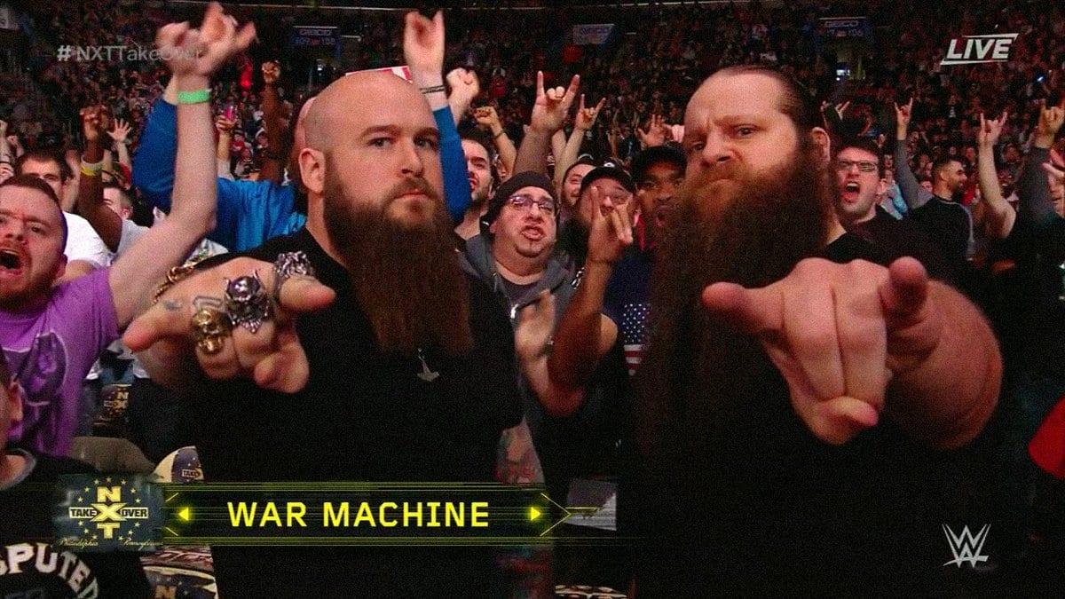 War Machine NXT TakeOver Philadelphia