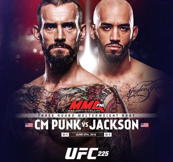 CM PUnk vs. Matt Jackson - UFC 225