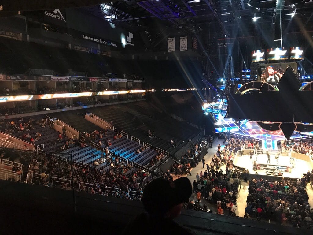 Low SmackDown Live Attendance 2018 - 2