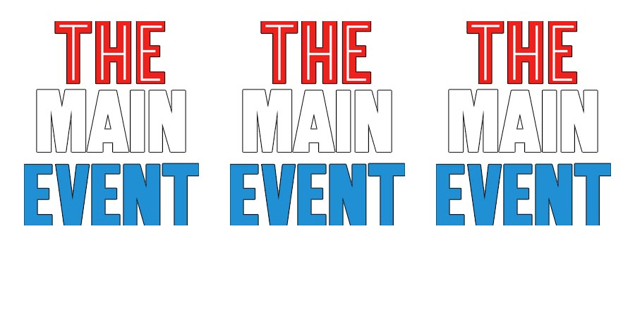 Main Event WWF The Main Event