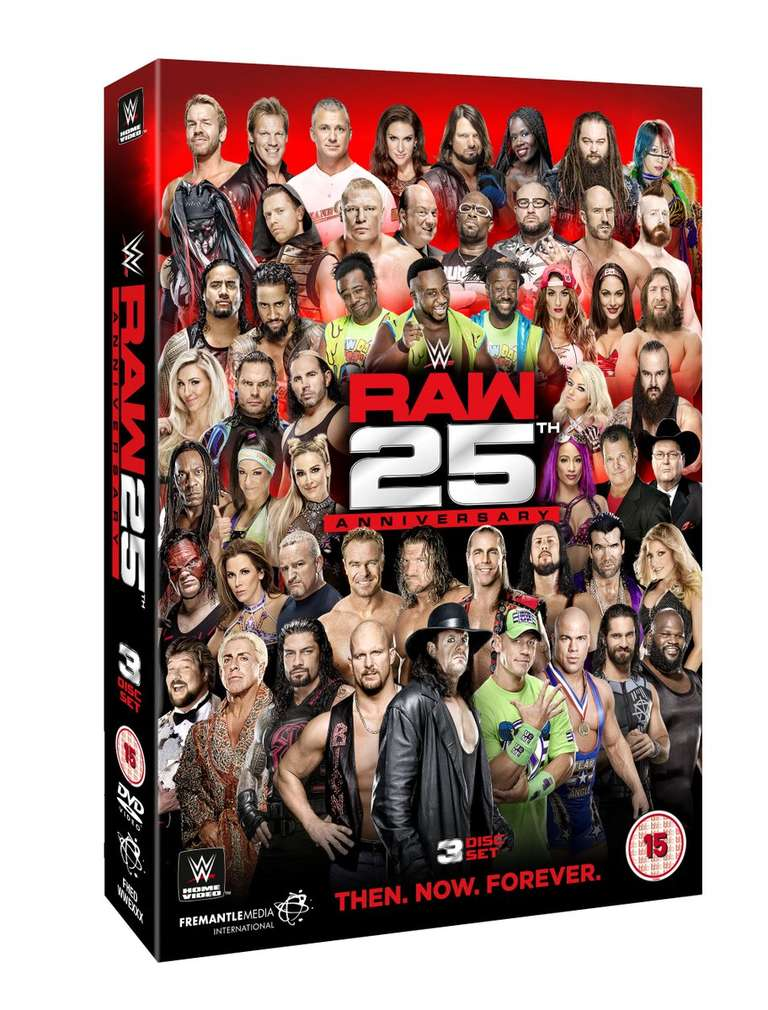 Raw 25 DVD