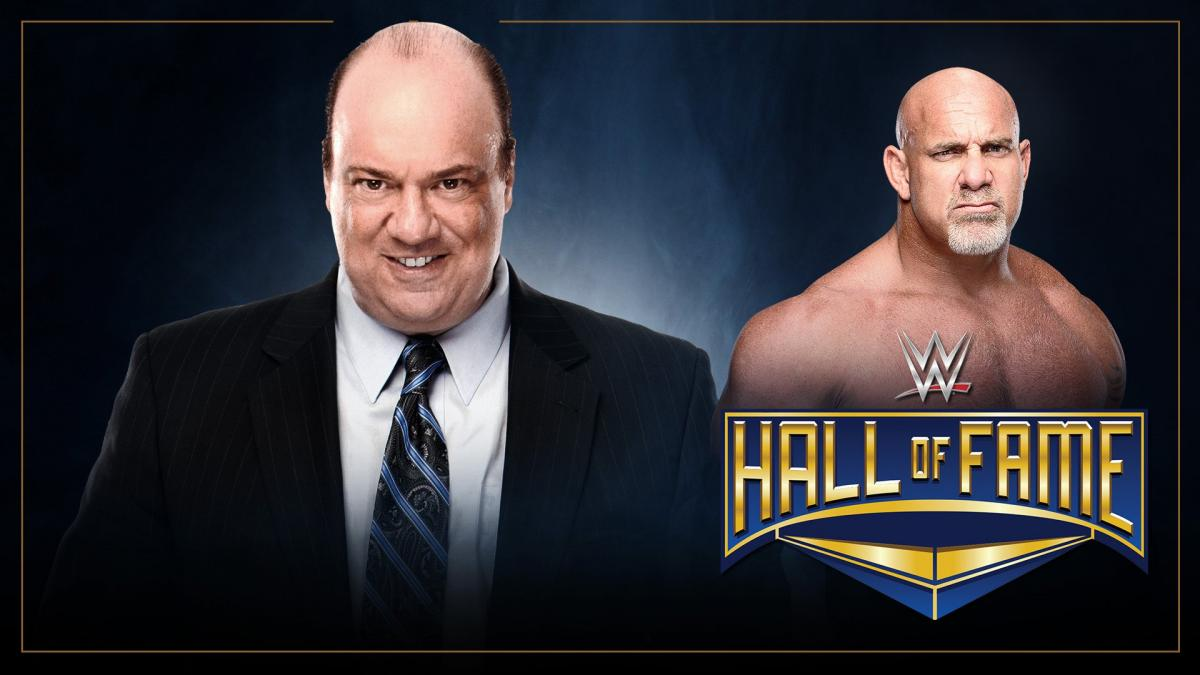 Paul Heyman to induct Goldberg into the WWE Hall of Fame Class of 2018