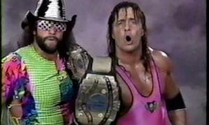 Randy Savage & Bret Hart