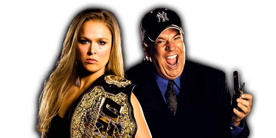 Ronda Rousey & Paul Heyman