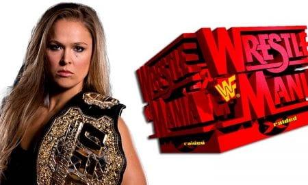 Ronda Rousey WrestleMania