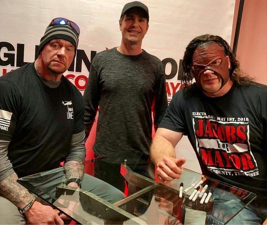 The Undertaker & Kane Reunite in 2018 - 1