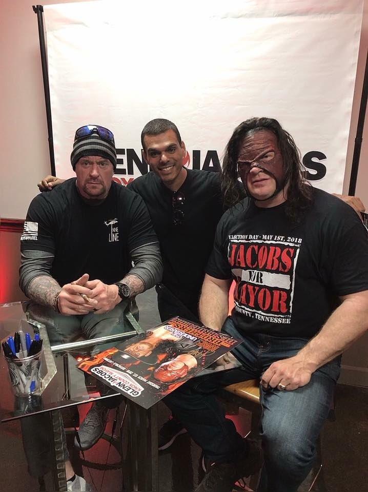 The Undertaker & Kane Reunite in 2018 - 10