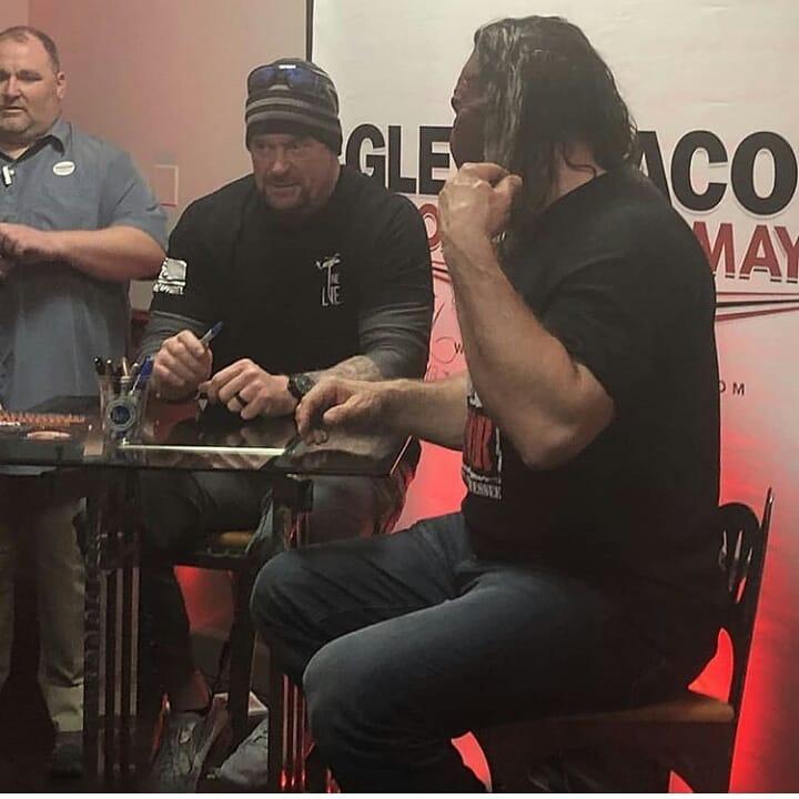 The Undertaker & Kane Reunite in 2018 - 2