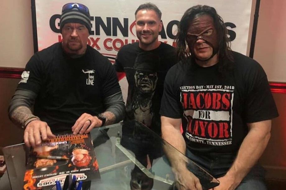 The Undertaker & Kane Reunite in 2018 - 4