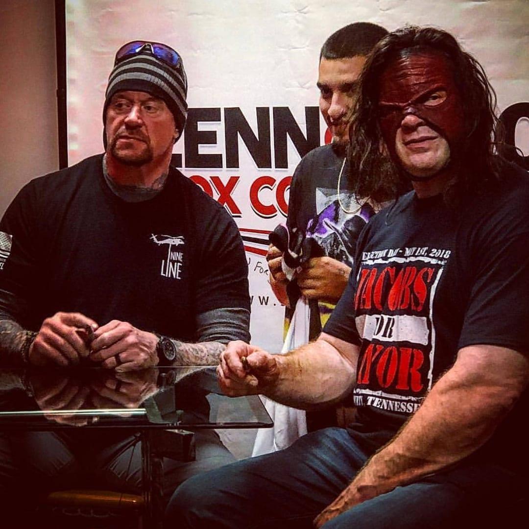 The Undertaker & Kane Reunited Yesterday For A Fundraiser