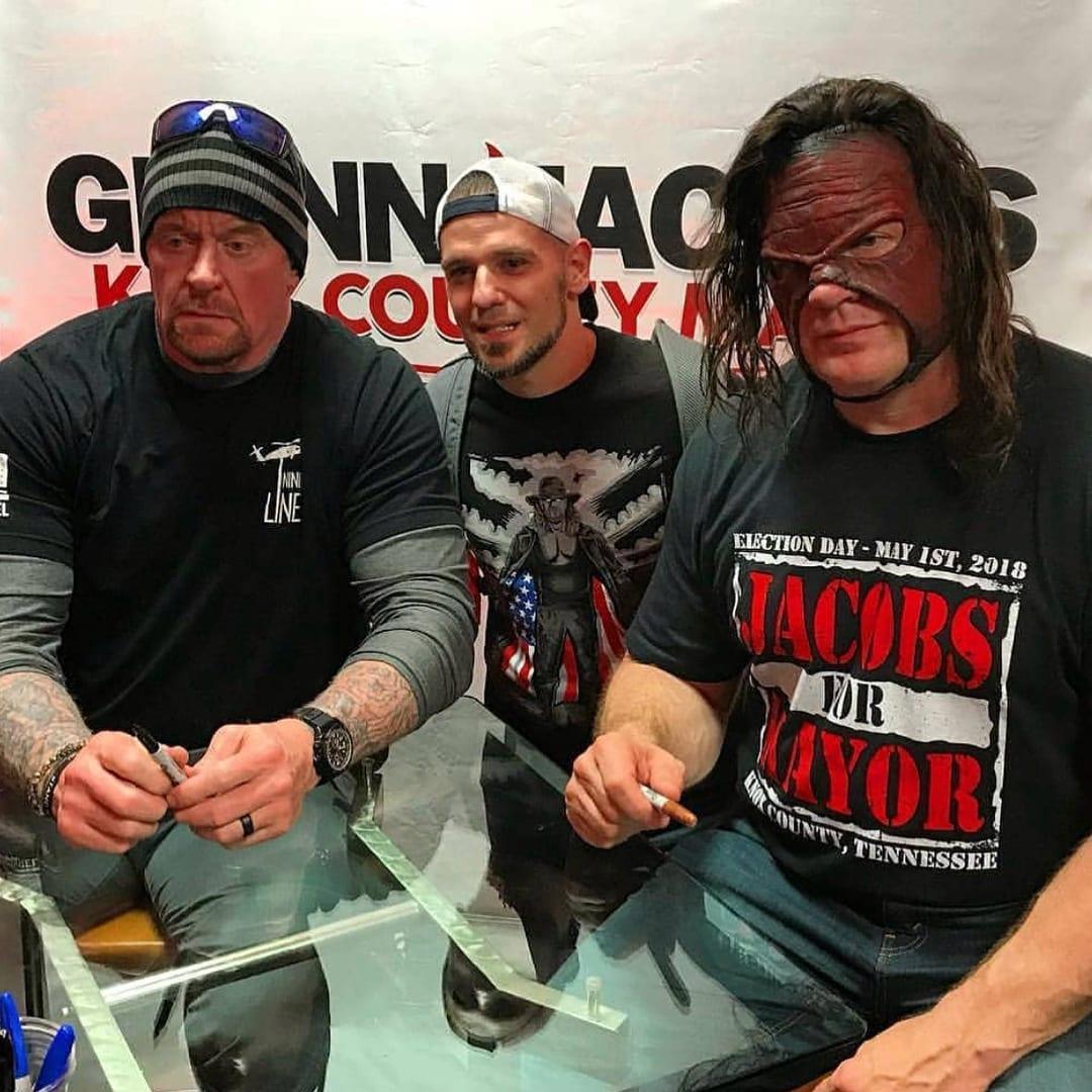 The Undertaker & Kane Reunite in 2018 - 8