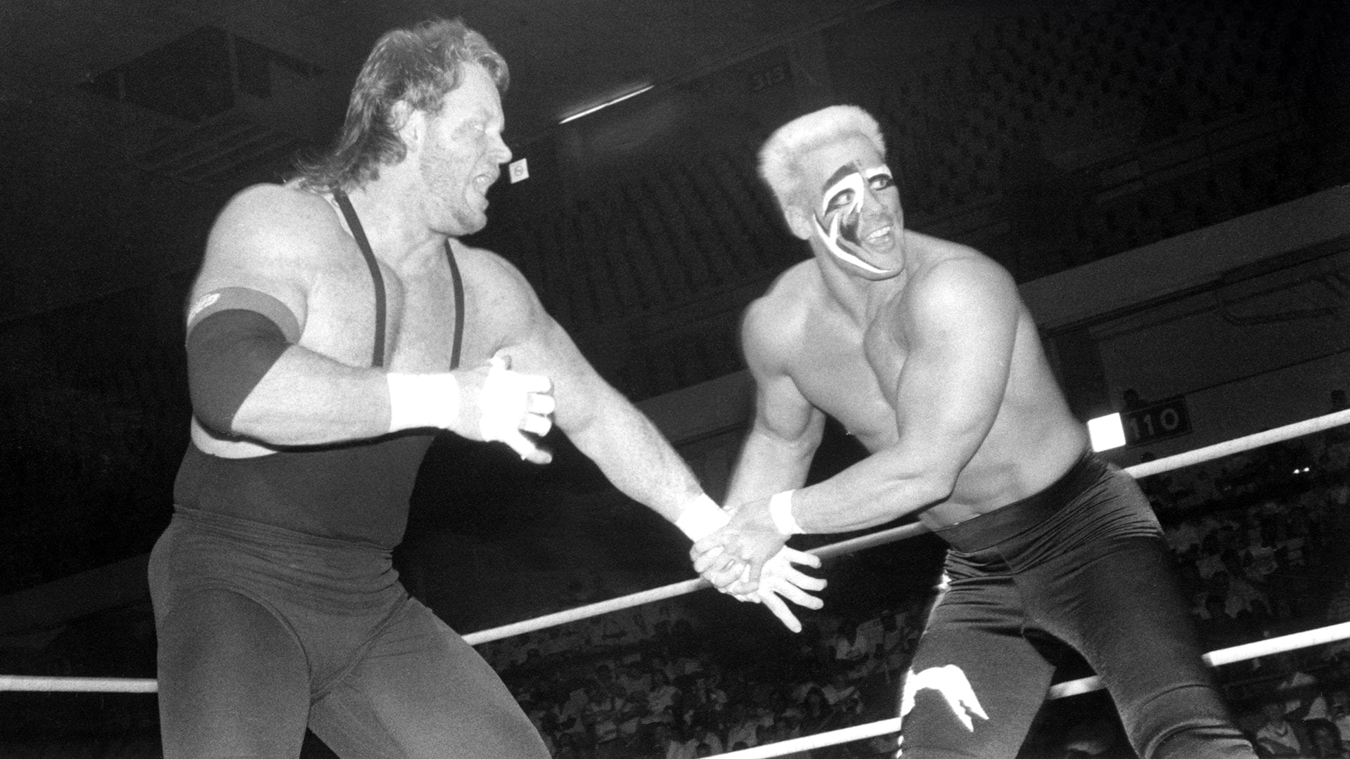 The Undertaker vs. Sting Real Photo From WCW 1990