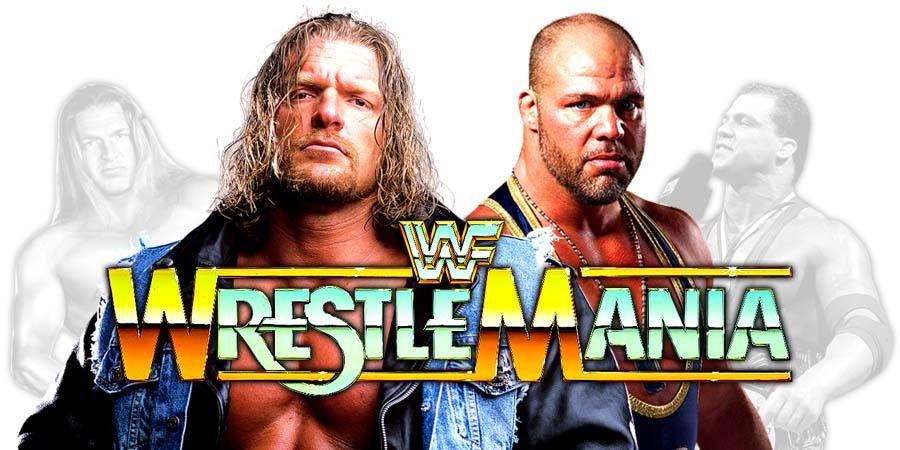 Triple H & Kurt Angle - WrestleMania 34