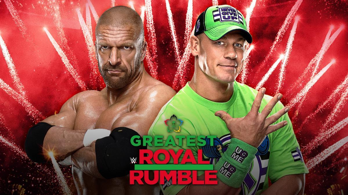 Triple H vs. John Cena - Greatest Royal Rumble