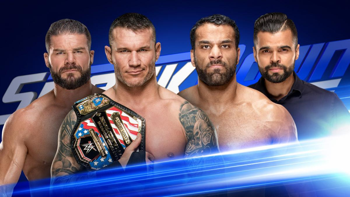United States Champion Randy Orton & Bobby Roode vs. Jinder Mahal & Sunil Singh