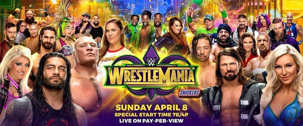 WrestleMania 34 Official Poster