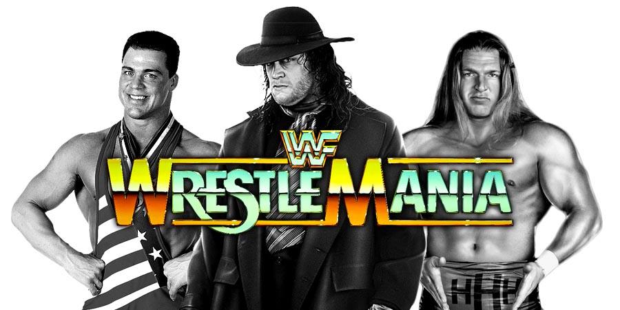 WrestleMania 34 - The Undertaker, Kurt Angle, Triple H