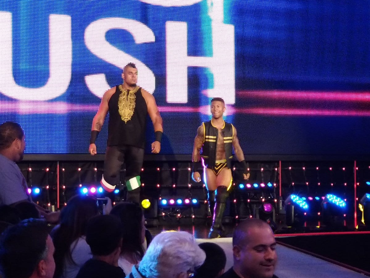 Babatunde Aiyegbusi WWE NXT - 1