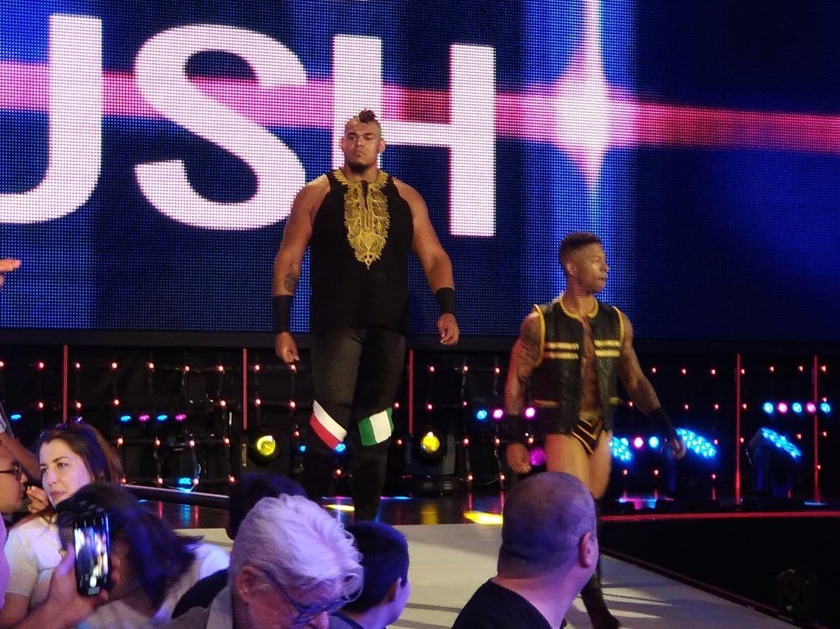Babatunde Aiyegbusi WWE NXT - 3