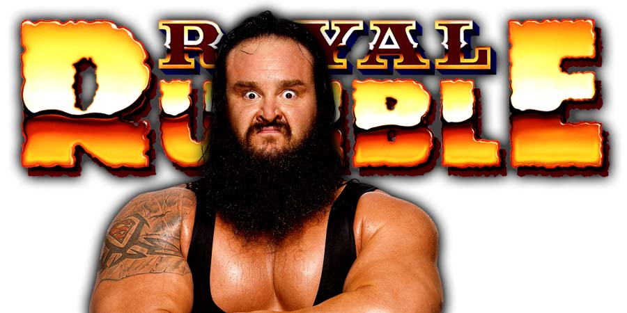 Braun Strowman Greatest Royal Rumble