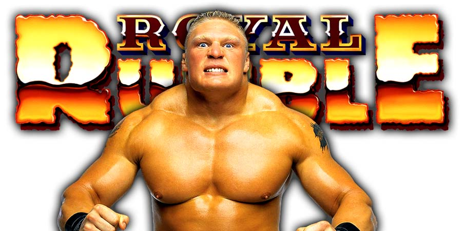 Brock Lesnar Universal Champion Greatest Royal Rumble 2018