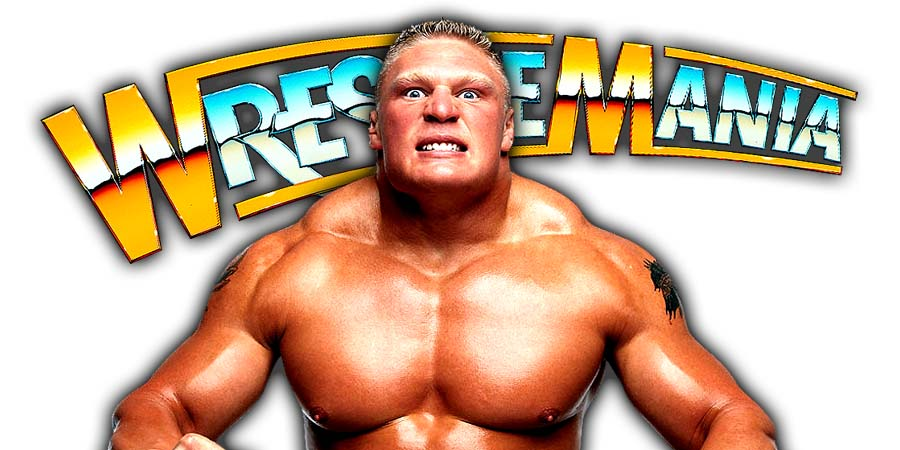 Brock Lesnar WrestleMania 34