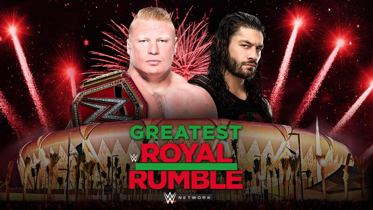 Brock Lesnar vs. Roman Reigns - Greatest Royal Rumble