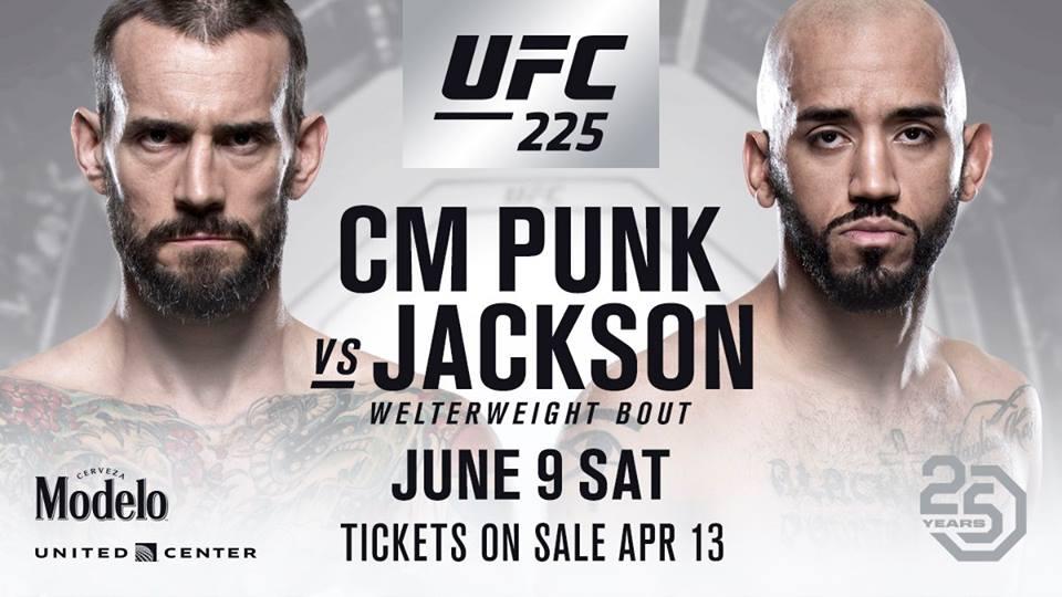 CM Punk vs. Mike Jackson - UFC 225