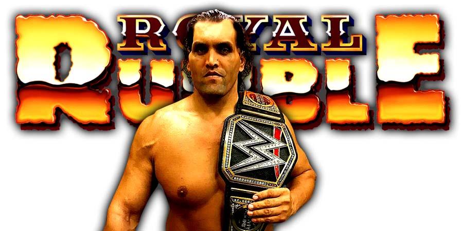 Great Khali Greatest Royal Rumble