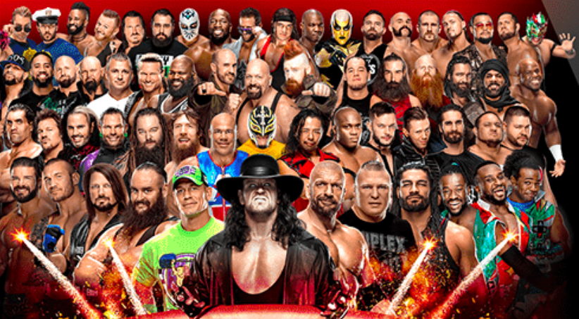 Greatest Royal Rumble Event Poster The Great Khali Rey Mysterio