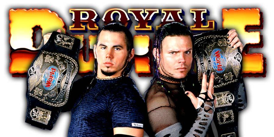 Hardy Boyz Greatest Royal Rumble