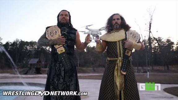 Hardy Boyz WWE DVD Featuring Impact Wrestling Content GWN Logo - 1