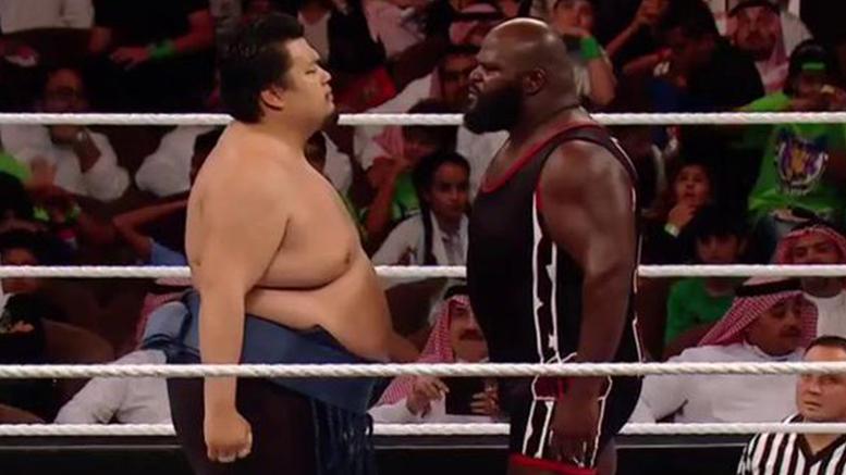 Hiroki Sumi Mark Henry Greatest Royal Rumble