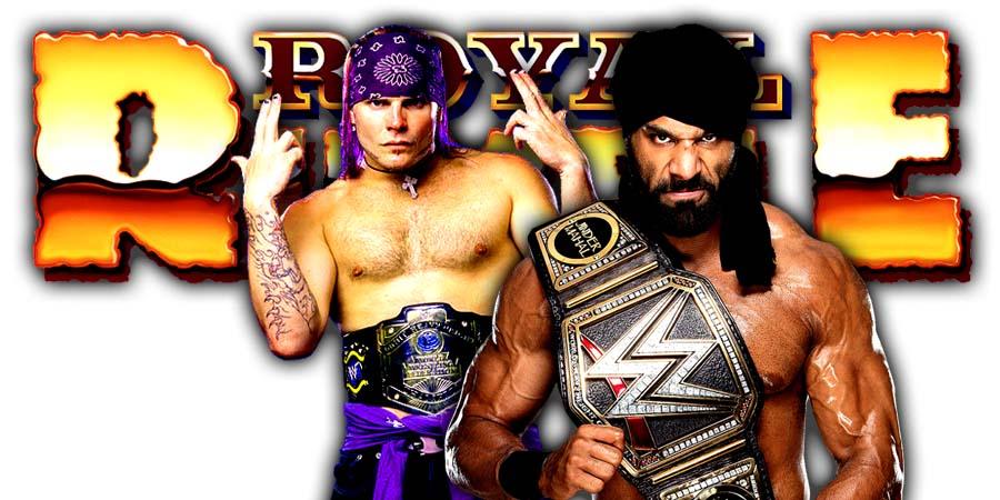 Jeff Hardy Jinder Mahal Greatest Royal Rumble