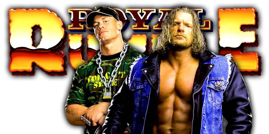 John Cena Triple H Greatest Royal Rumble