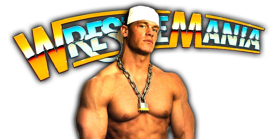 John Cena WrestleMania 34
