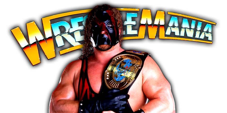 Kane WrestleMania 34