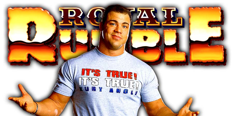 Kurt Angle Greatest Royal Rumble