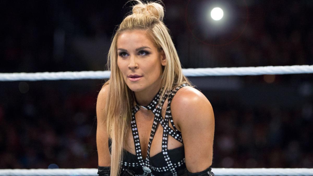 Natalya Suffers Horrible Wardrobe Malfunction At Wrestlemania 34
