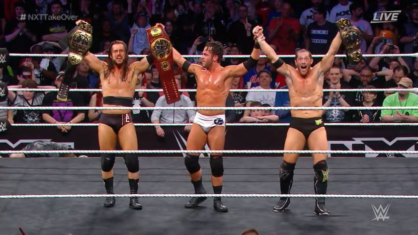 Roderick Strong joins Undisputed Era at NXT TakeOver New Orleans