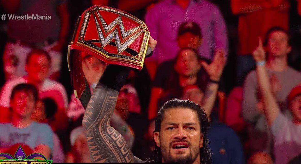 Roman Reigns Universal Champion 2018