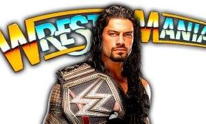 Roman Reigns WrestleMania 34