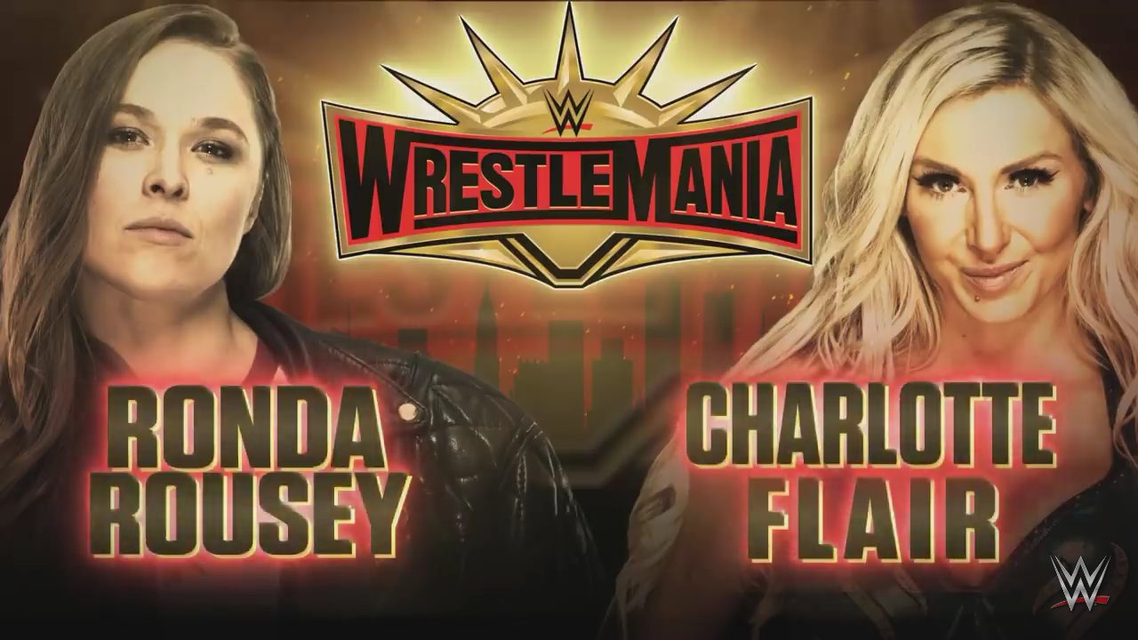 Ronda Rousey vs. Charlotte Flair - WrestleMania 35